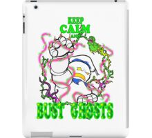 Keep Calm and Bust Ghosts iPad Case/Skin