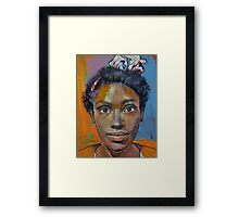 Portrait of Toni Framed Print