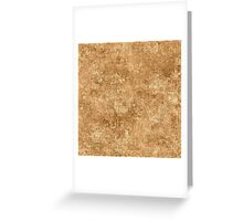 Desert Mist Oil Painting Color Accent Greeting Card