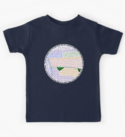 Hitchhiker's Guide Marvin Quotes Kids Tee