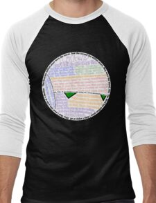Hitchhiker's Guide Marvin Quotes Men's Baseball ¾ T-Shirt