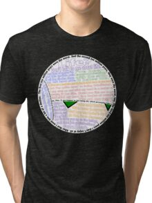 Hitchhiker's Guide Marvin Quotes Tri-blend T-Shirt