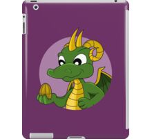 Cute green dragon cartoon iPad Case/Skin