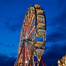 A Different Angle barkeypf carnaval lights ferris wheel by barkeypf