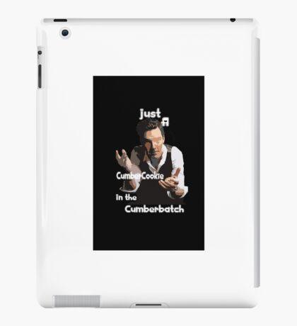 Are you a CumberCookie? iPad Case/Skin