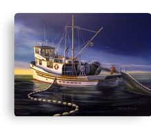 F/V Morning Star Canvas Print