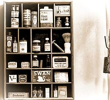 The Well Stocked Medicine Cabinet of YesterYear by Noble Upchurch