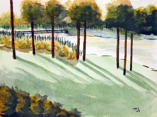 Over the River by Tina Siegel by CoastalCarolina