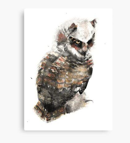 Owl just keep my eye on you. Canvas Print