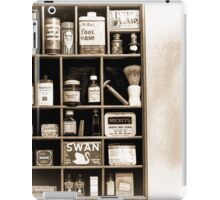 The Well Stocked Medicine Cabinet of YesterYear iPad Case/Skin