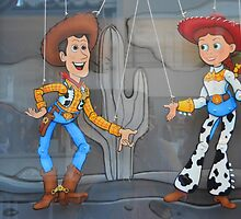 Disney Toy Story, Pixar Toy Story, Woody Jessie Pixar Characters by notheothereye