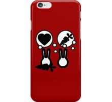 hell with bunny love parody -  take carrot iPhone Case/Skin