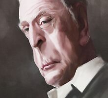 Michael Caine by Maritze