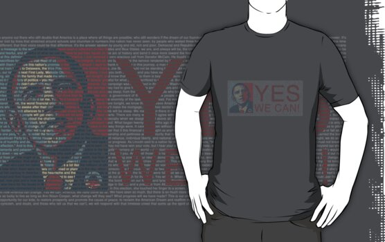 Obama - Yes We Can by Marcus Mawby
