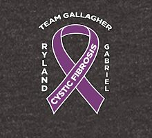 Team Gallagher! Cystic Fibrosis Awareness Zipped Hoodie