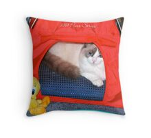 Lily-Rose & Friend Tweety! Throw Pillow