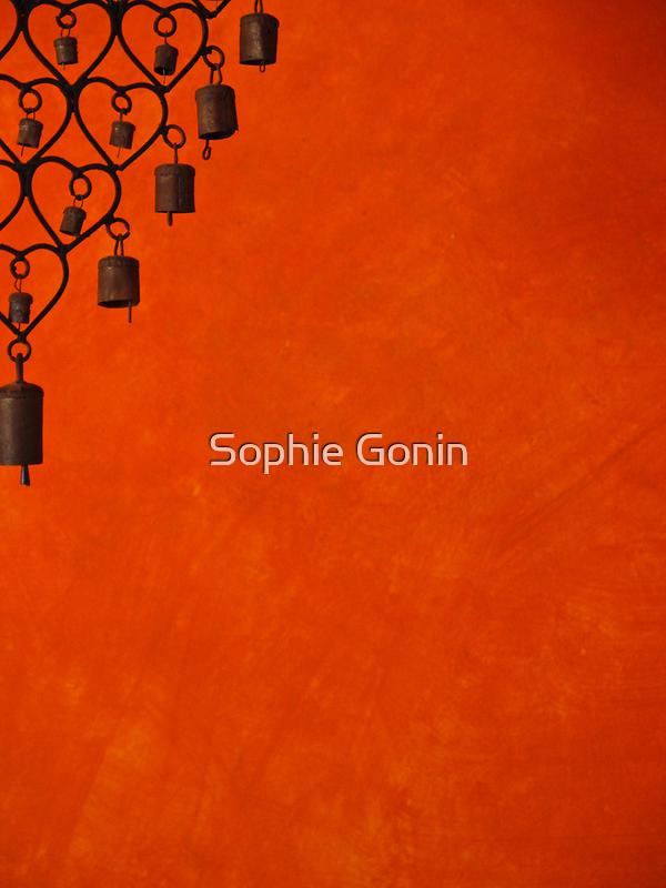 Burnt Orange Jewel by Sophie Gonin