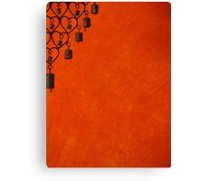 Burnt Orange Jewel Canvas Print
