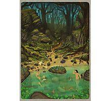 Skinny River Dip Photographic Print