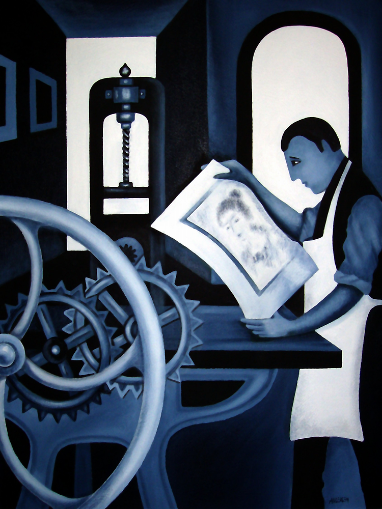 THE PRINTER'S PROOF by Thomas Andersen