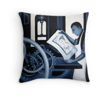 THE PRINTER'S PROOF Throw Pillow