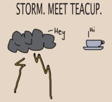 Storm. Meet Teacup. by MuscularTeeth