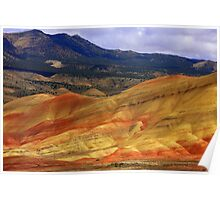 Painted Hills, Eastern Oregon #5 Poster
