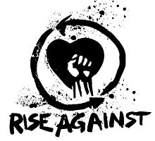 Rise Against Band logo no background by frixion
