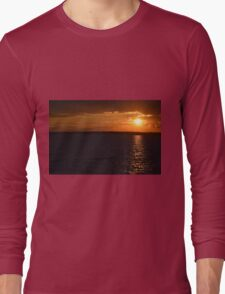 Ocean City, Maryland Series - Sunset Long Sleeve T-Shirt