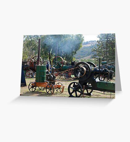 'Engines everywhere' Greeting Card