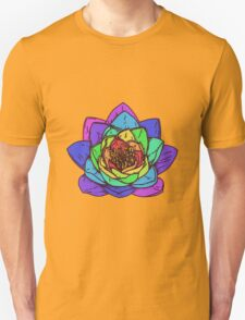 Rainbow flower T-Shirt