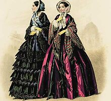 Victorian Designs: Fashion Plates from 1870-1879 by Roberta  Barnes