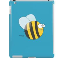 Cool & Crazy Funny Bee / Bumble Bee (Sweet & Cute) iPad Case/Skin