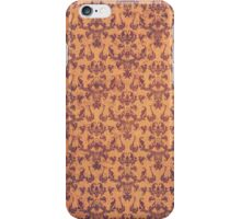 Old Gold Vintage Patina Damask iPhone Case/Skin