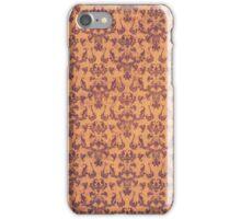 Old Gold Vintage Patina Damask iPhone Case/Skin