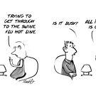Not Another Swine Flu Cartoon by David Stuart