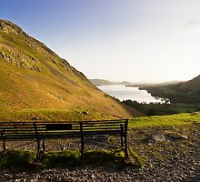 Ullswater Bench by Paul Davey