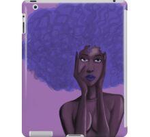 Afro Blu iPad Case/Skin