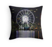 Perth Wheel Throw Pillow