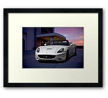 2011 Ferrari California '3Q Driver Side' Framed Print
