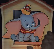 Disney Dumbo Baby Elephant Disney Magic Feather Character by notheothereye