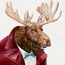 Moose In Maroon by AnimalCrew