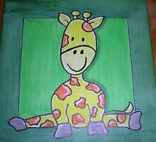 Giggling Giraffe by Bubbaluv