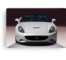 2011 Ferrari California 'Front' Canvas Print