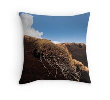 holme moss 3 plant and cloud Throw Pillow