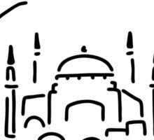 istanbul hagia sophia Sticker