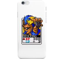 Duck King iPhone Case/Skin