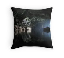 Awesome Lao cave Throw Pillow