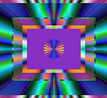 Fractal for People Who Love Color! by Roberta  Barnes