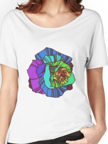 Rainbow flower 2 Women's Relaxed Fit T-Shirt